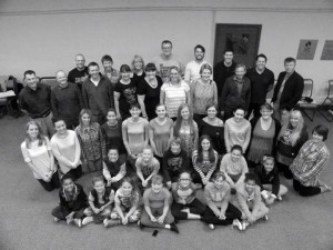Burton Operatic Society members