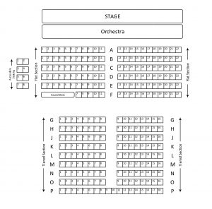 BMTC de Ferrers Seating Plan