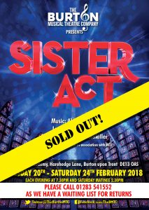 Click to view the Sister Act programme