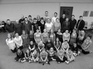 Burton Operatic Society members