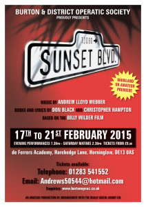 Click to view the Sunset Boulevard programme