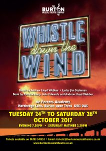 Click to view the Whistle Down The Wind programme