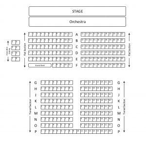 de Ferrers Seating Plan